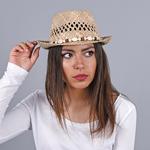 Chapeau de Paille Coquillages