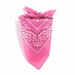 Bandana rose dragée