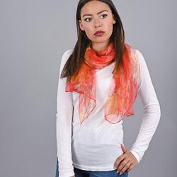 Foulard mousseline de soie Lindor