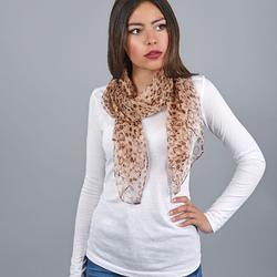 Foulard mousseline de soie Alixa
