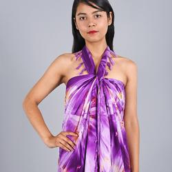Paréo Batik éclats Violet