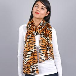Foulard chèche 100% coton Motifs tigrés