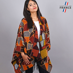 Poncho Nostra Orange