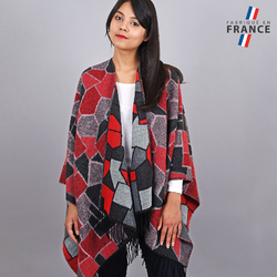 Poncho Nostra Rouge