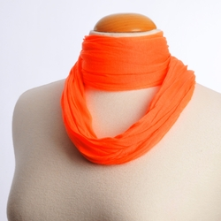 Foulard tube ORANGE FLUO uni