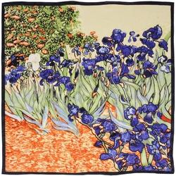 Carré de soie SilkArt <br/>Van Gogh <br/>Iris