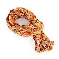 Chèche pur coton Roz orange