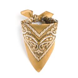 Foulard bandana sable