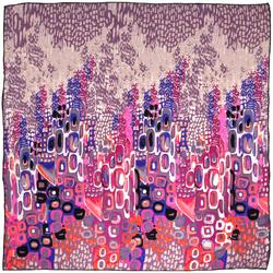 Carré de soie SilkArt <br/>Abstraction rose