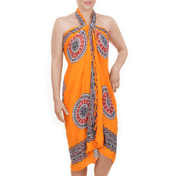 Paréo Batik Padma ORANGE