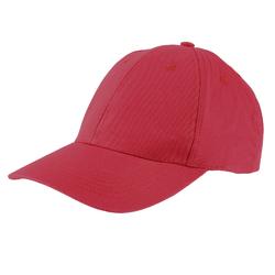 Casquette coton rouge