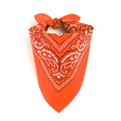 Foulard bandana orange