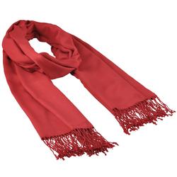 Etole unie à franges Rouge cerise