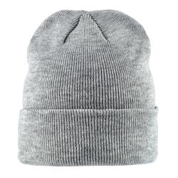 Bonnet court gris argent