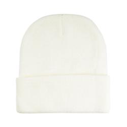 Bonnet court blanc