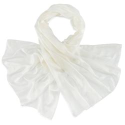 Etole soie blanc
