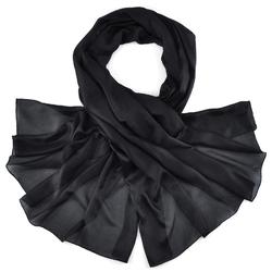 Etole soie noir