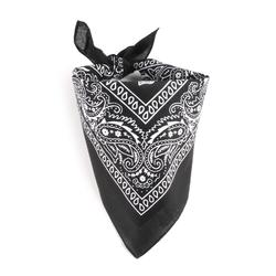 Foulard bandana noir