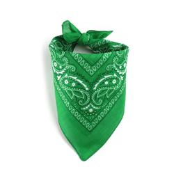 Foulard bandana vert