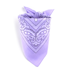 Foulard bandana mauve