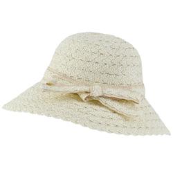 Chapeau paille Tora blanc