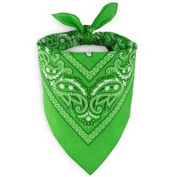 Foulard bandana vert pomme
