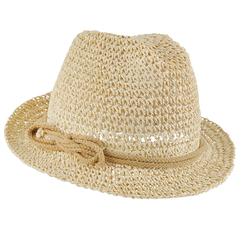 Chapeau Fedora femme Cifon naturel