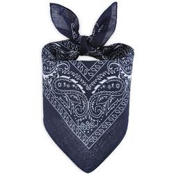 Foulard bandana bleu nuit