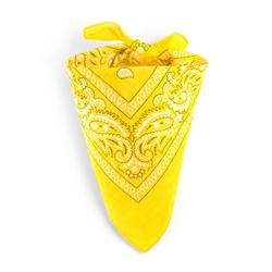 Bandana jaune