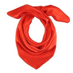 Foulard carré Eazy <br/>Rouge