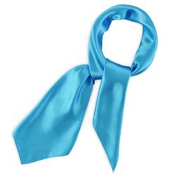 Foulard carré Gala <br/>Bleu turquoise