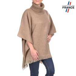Poncho pull BEA Taupe