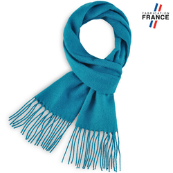 Echarpe FELY Bleu Canard uni