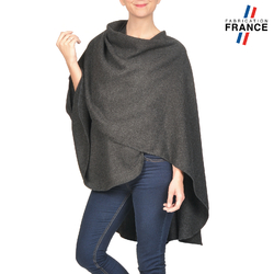 Poncho FANNY Anthracite