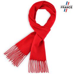 Echarpe FELY Rouge uni