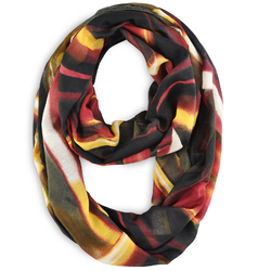 Snood Gribouille Marron