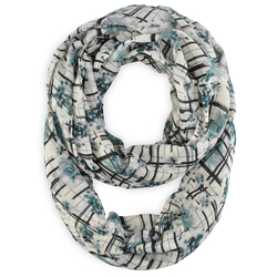 Snood Caroflor Gris