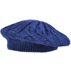 Béret femme TALVI <br/>Bleu marine