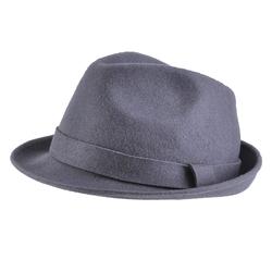 Chapeau feutre laine <br/>Trilby Gris