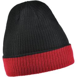 Bonnet réversible UMA <br/>Noir - Rouge