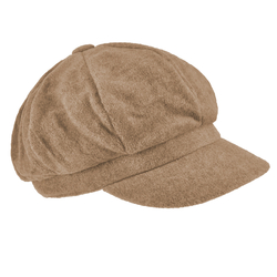 Casquette femme polaire Taupe
