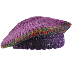 Béret tricot SPARTA <br/>Violet