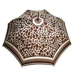 Parapluie long Femme <br/>Fovea Marron