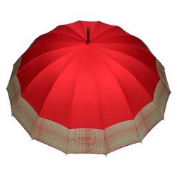 Parapluie droit Barbara <br/>Rouge