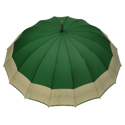Parapluie droit Barbara <br/>Vert