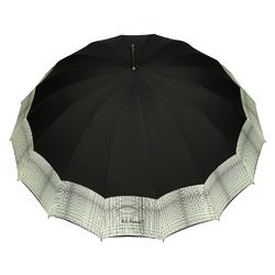 Parapluie droit Barbara <br/>Noir