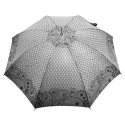 Parapluie droit Femme <br/>Vague Cachemire Argent