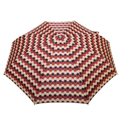 Mini parapluie O/F Automatique <br/>Alvéoles Quadri