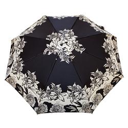 Parapluie pliant O/F Automatique <br/>Lys sur Noir