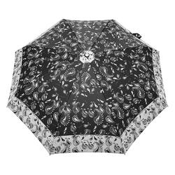 Parapluie pliant O/F Automatique <br/>Cachemire sur Noir